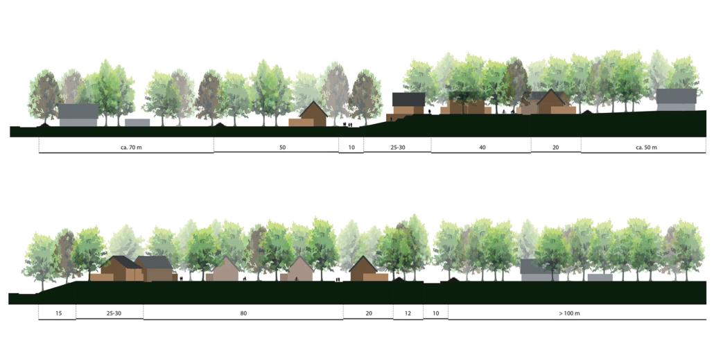 stedenbouw en landschap bureau Nieuwe Gracht Utrecht verkavelingsstudie Horeb-locatie De Hoop GGZ-instelling noord en zuid