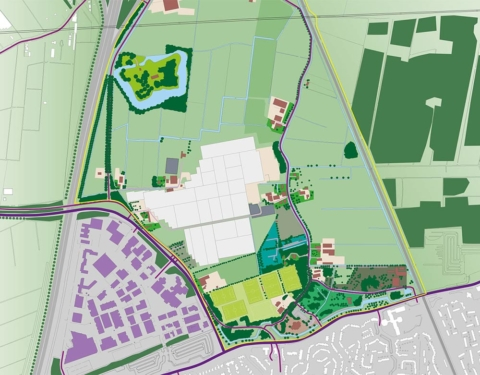 stedenbouw en landschap Bureau Nieuwe Gracht Utrecht kernrandzonevisie Oud-Wulven gemeente Houten