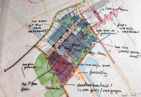 stedenbouw landschap Bureau Nieuwe Gracht Utrecht Living Lab Utrecht – Stadslogistiek in het Beurskwartier Gemeente Utrecht ministerie IenW Provincie