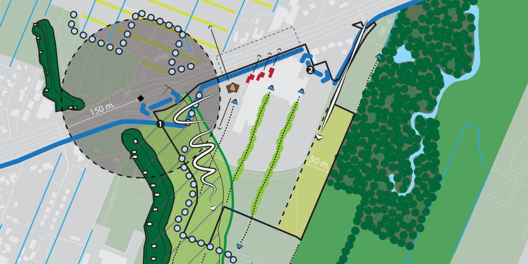 stedenbouw en landschap Bureau Nieuwe Gracht Utrecht kernrandzonevisie Verweliuslocatie gemeente De Bilt