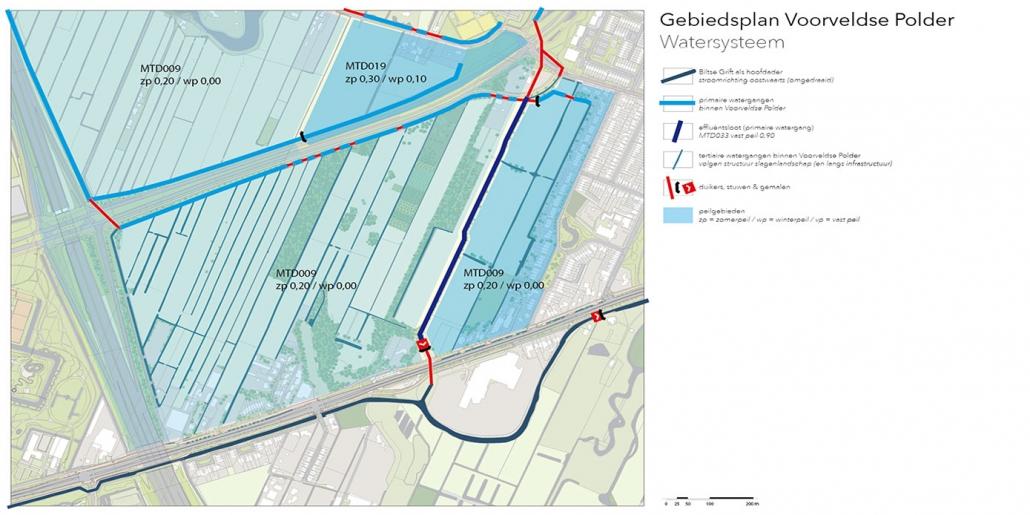 stedenbouw en landschap Bureau Nieuwe Gracht Utrecht Gebiedsplan Voorveldse Polder gemeente De Bilt