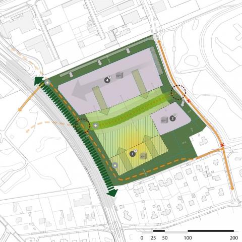 stedenbouw en landschap bureau Nieuwe Gracht Utrecht Integrale Ruimtelijke Visie Almata-terrein Den Dolder politie politieacademie