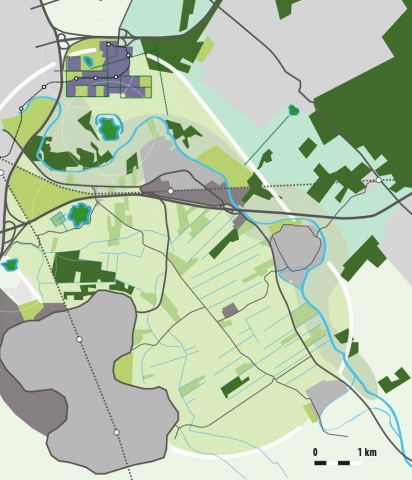 stedenbouw en landschap bureau Nieuwe Gracht Utrecht toekomstbeeld Kromme Rijnvallei Houten Bunnik Odijk