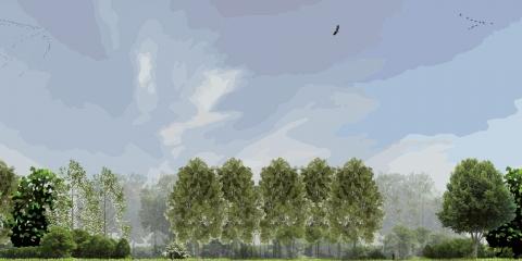 stedenbouw en landschap bureau Nieuwe Gracht Utrecht Uitwerkingsplan Kotterbos Vaartzone Vaartplas Staatsbosbeheer gemeente Almere gemeente Almere